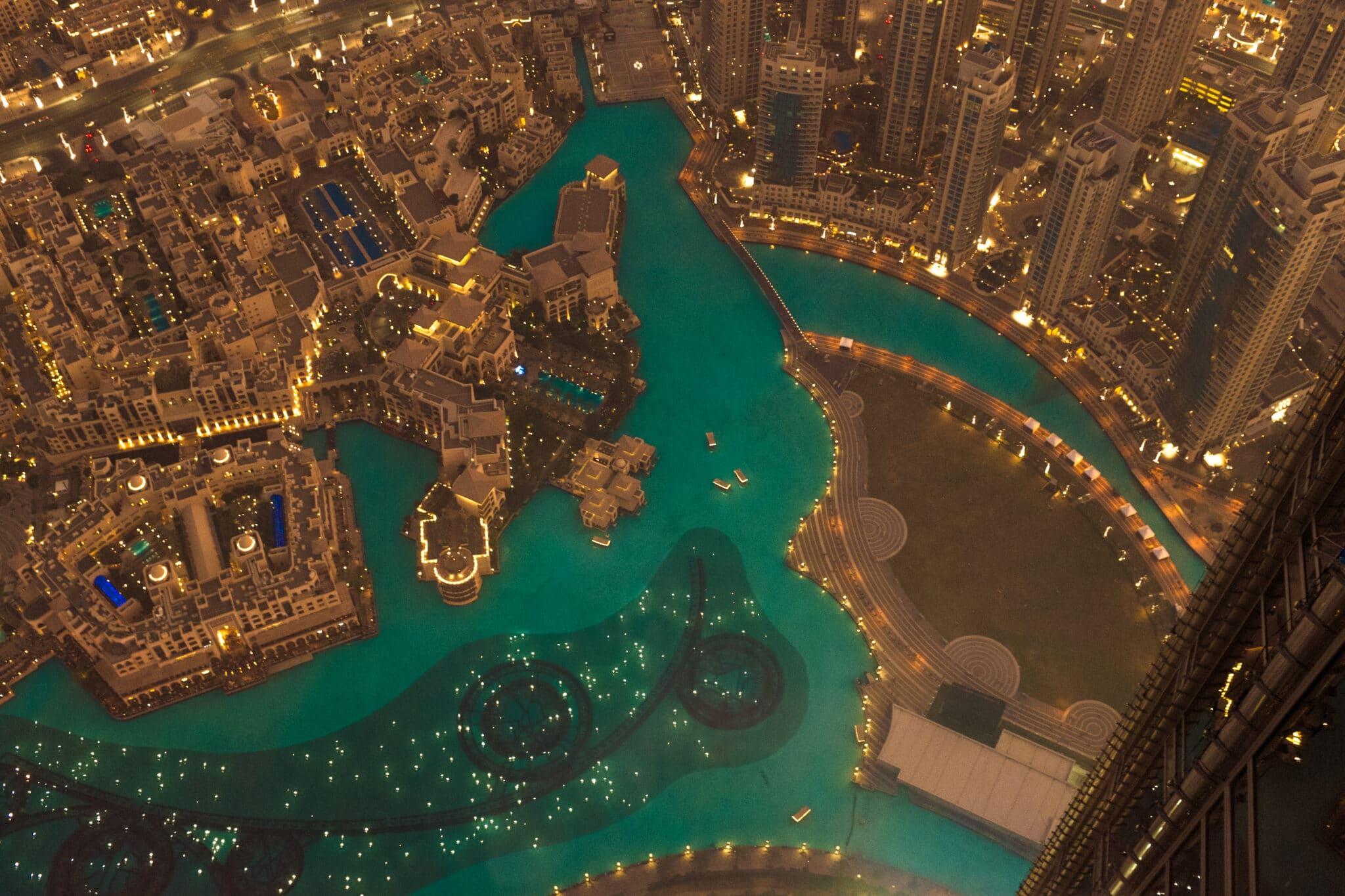 Arab Health Dubai from Burj Khalifa