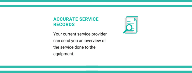 accurate service records | FlexRay Medical