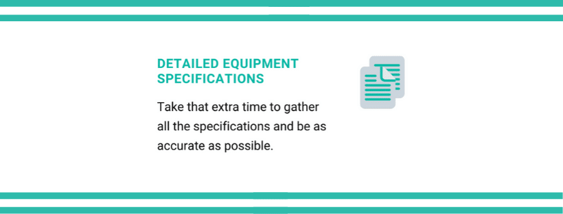 maximize the value - detailed equipment specifications   FlexRay Medical